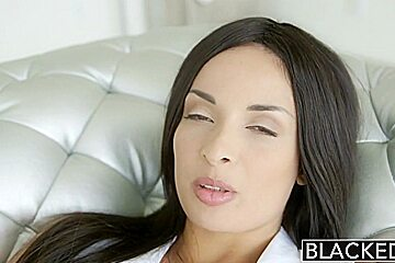 BLACKED French Girl Anissa Kate Hot Interracial Anal Sex