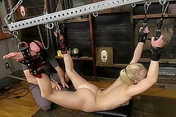 Lily Rader - Milky White Teen BDSM - Blonde and Submissive 4