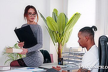 Private - Lana Roy Russian Teacher Enjoys Interracial F