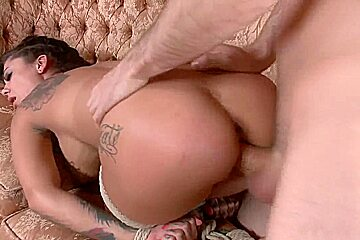 Bonnie Rotten and James Deen BDSM anal squirt