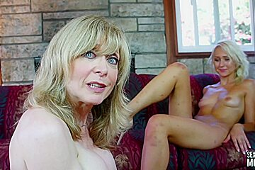 Nina Hartley - Natasha Voya And Nina Hartly - Lesbian