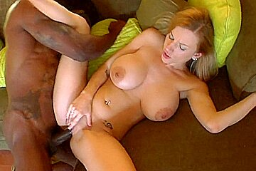 Young busty Haley meets the Beast of Cock