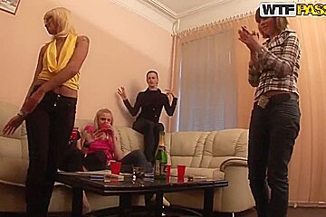 Horny assfucking party with true sluts will be absolutely wild