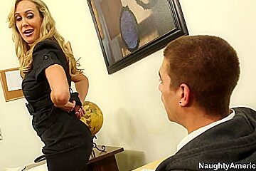 Brandi Love - first sex teacher for virgin student Xander Corvus