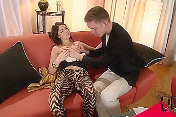 Sexy Ava Dalush meets the man of her dreams