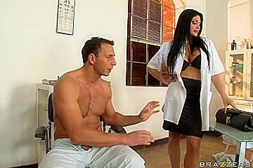 Aletta Ocean has a cure for his long white penis
