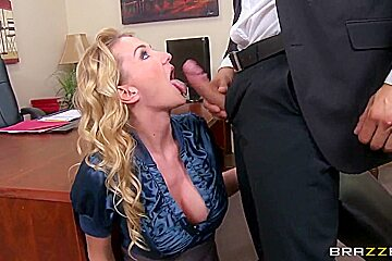 Blake Rose and Danny Mountain sex in office