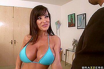 Love Boobies of Keiran Lee and Lisa Ann Need Loving