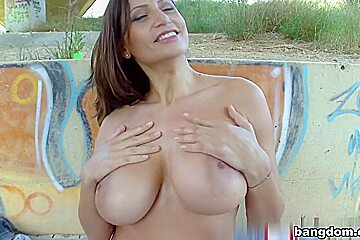 Sensual Jane in Sensual Janes Giant Breasts!