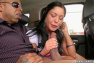 Lusty Angelica Heart takes on fat monster cock