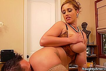 Eva Notty & Johnny Castle in Seduced by a Cougar