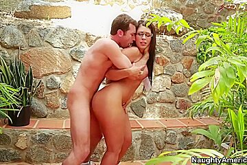 Ava Alvares & James Deen in Naughty Book Worms