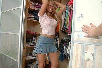 Francheska in slut fucks hard in this free high heel porn video