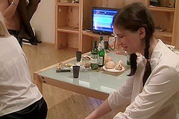 Elizabeth & Kamila & Marya & Sabina Gruda & Tanata in hot college sex video with a beautiful vixen