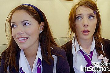 Naughty College: Slutty Schoolgirls