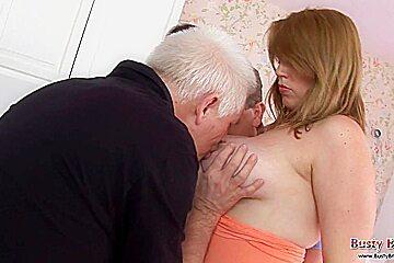 Big Tits Angel Loves A Gangbang
