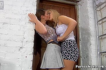 Pantyhose1 Clip: Flossie and Gertie