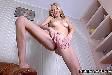 Nancy A In Stunning Blonde