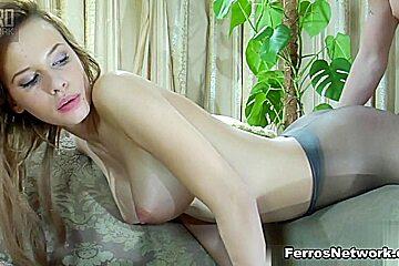 PantyhoseTales Video: Irene and Rolf