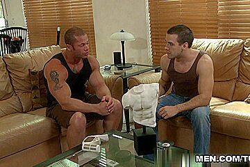 Corey Martin & Matthew Rush in Train Me Movie