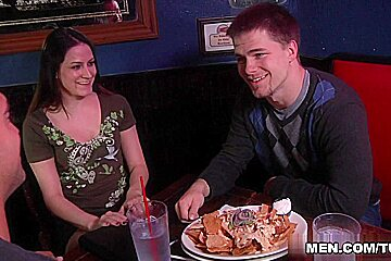 Jimmy Johnson & Rocco Reed in The Third Wheel Scene