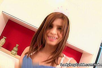 LadyboyGold Video: Princess Gape Bareback