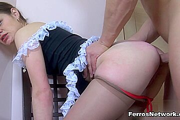 Anal-Pantyhose Clip: Colette and Nicholas
