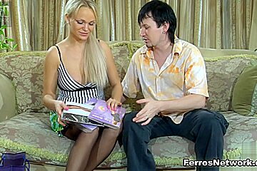 PantyhoseJobs Movie: Dolly and Rolf