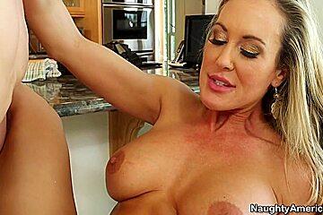 Brandi Love & Bruce Venture in My Friends Hot Mom