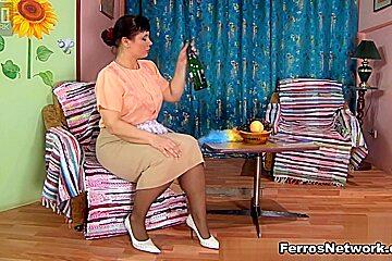 MaturesAndPantyhose Video: Kathleen B and Nicholas
