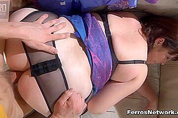MomsGiveAss Video: Caroline M and Morris