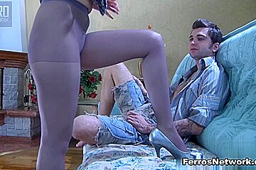 Anal-Pantyhose Video: Inessa and Marcus