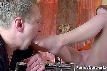 NylonFeetVideos Movie: Stacey and Adrian