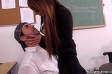 Jenla Moore & Kris Slater in My First Sex Teacher