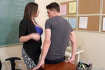 Sara Jay & Bruce Venture in My First Sex Teacher