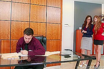 Darla Crane & Syren De Mer & Seth Gamble in Naughty Office
