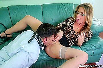 Sheena Shaw & Anthony Rosano in Naughty Office