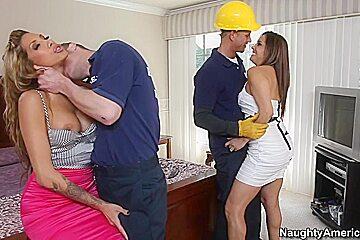 Francesca Le & Kayla Carrera & Bill Bailey & Michael Vegas in Latina Dultery