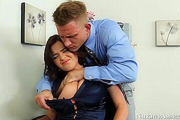 Krissy Lynn & Bill Bailey in Naughty Office