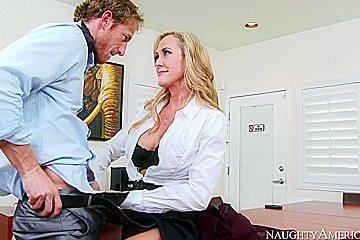Brandi Love & Ryan Mclane in Naughty Office