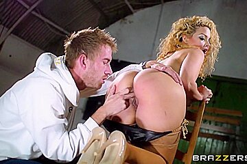 Baby Got Boobs: Aruba's Thirsty for Big Cock. Aruba Jasmine, Danny D