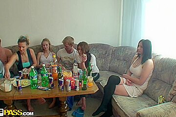 Dana & Janet & Kristene & Sonja in teenage sex porn with lots of wonderful bitches