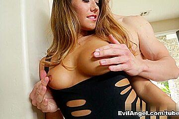 Eva Lovia & Erik Everhard in Stunning Curves Video