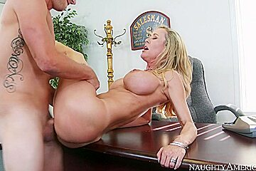 Brandi Love & Van Wylde in Naughty Office