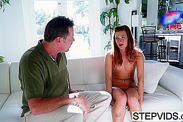 Alaina Dawson pleases her stepdad