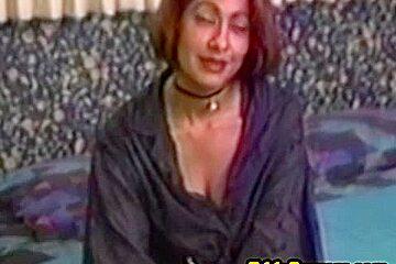 Real vintage amateur pussy slammed before facial