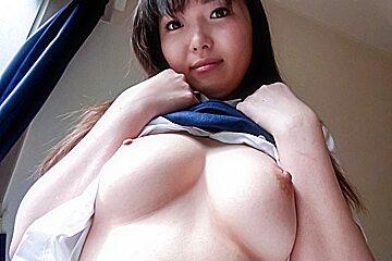 Serious porn play in POV along Haruka Ohsawa