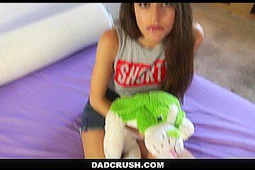 DadCrush - Spanking My Slut Step-Daughter