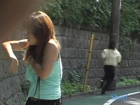 Cute Asian babe gets sharked in public Naked ebony girls porn