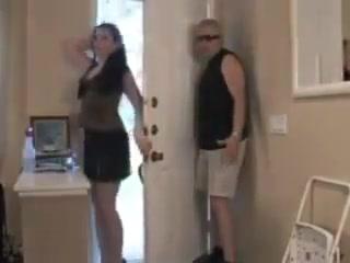 Home invaded housewife nude drunk girls fist fighting